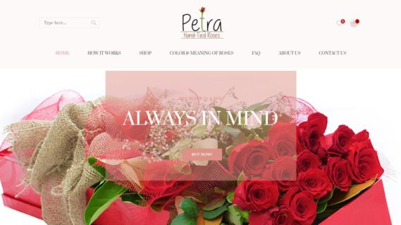 Petro Roses Hand Tied Roses