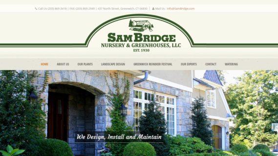 Sam Bridge Nursery Greenhouses